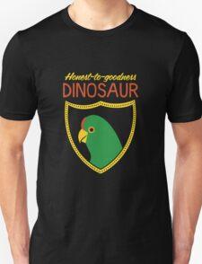 Honest-To-Goodness Dinosaur: Parakeet (on dark background) T-Shirt