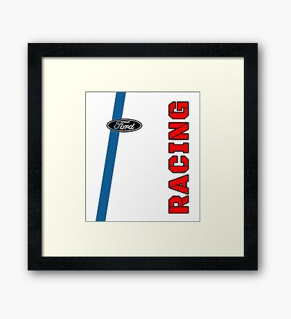 Ford Racing Framed Print