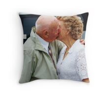 Love has no age Throw Pillow