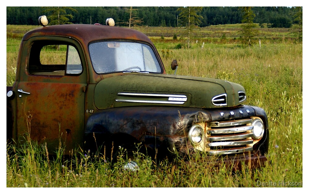 Old Truck 2 by Danita Hickson