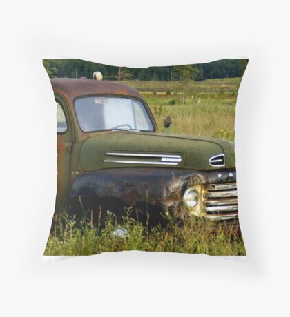 Old Truck 2 Throw Pillow
