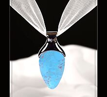 Turquoise Pendent by Shaun McDougle