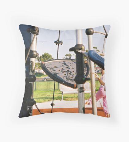 Childsplay 8 Throw Pillow
