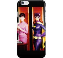 The 2 Faces of Barbara Gordon iPhone Case/Skin