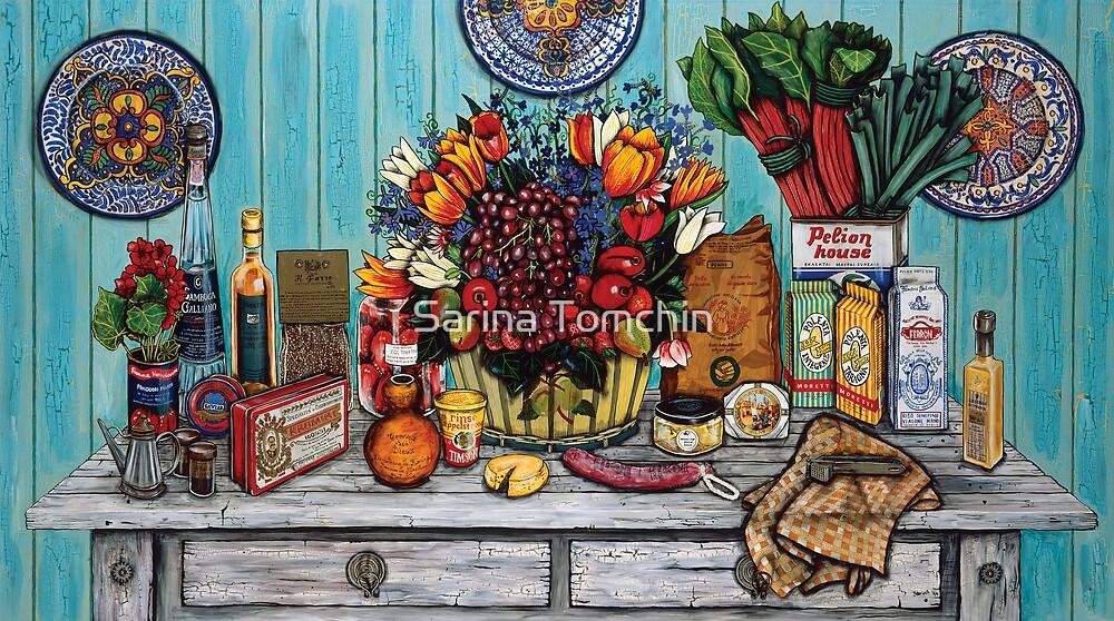 Italian Still Life (No 1) by Sarina Tomchin