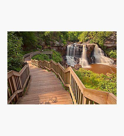 Winding Blackwater Falls Photographic Print