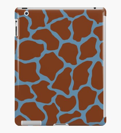 Air Force Blue (RAF) or Rackley in Giraffe Pattern  iPad Case/Skin