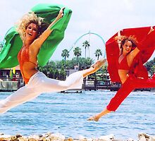 Leaping Beauties by Pamela Murdock