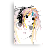 Yuki Remix Canvas Print