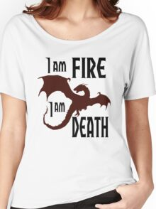 Fire & Death Women's Relaxed Fit T-Shirt