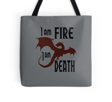 Fire & Death Tote Bag
