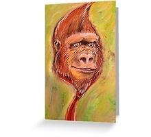 Realistic Donkey Kong Greeting Card