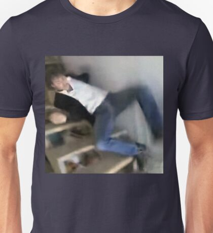 JUSTIN TRUDEAU FALLING STAIRS PRIME MINISTER CANADA PCM MEMES Unisex T-Shirt