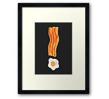 Breakfast is Important! Framed Print