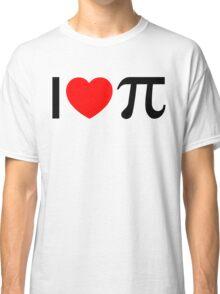 I Heart Pi - I Love Pi Classic T-Shirt