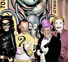 Batvillains by kayve