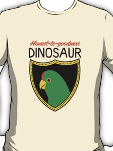 Honest-To-Goodness Dinosaur: Parakeet (on light background) T-Shirt