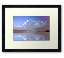 Twice as nice Framed Print