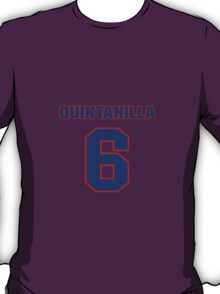 National baseball player Omar Quintanilla jersey 6 T-Shirt