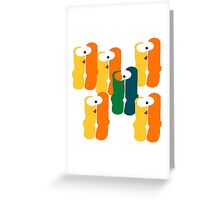 Stand Out in The Crowd Greeting Card