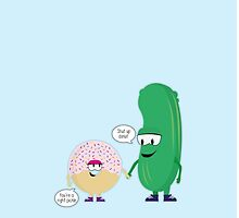 Pickle & Donut funny by nelson92