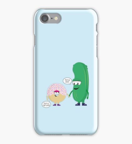 Pickle & Donut funny iPhone Case/Skin