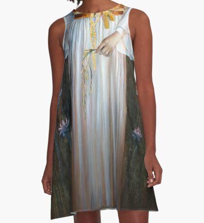 Kwan Yin A-Line Dress