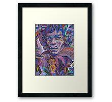 Psychedelic Haze Framed Print