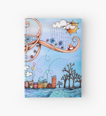 Summer Breeze Hardcover Journal