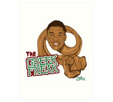 The Greek Freak Art Print