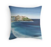 Bondi Icebergs Throw Pillow