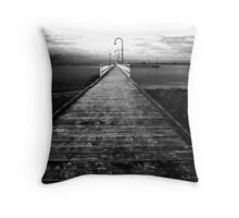 Foote Street Jetty Throw Pillow