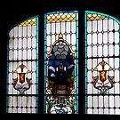 Dunedin Railway Station window, Canterbury, New Zealand by Jan Stead JEMproductions
