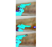 Catch The Bullet Photographic Print