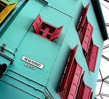 Read Street, Clarke Quay, Singapore by Leone Fabre