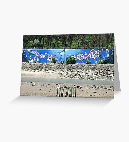 Graffiti I Greeting Card