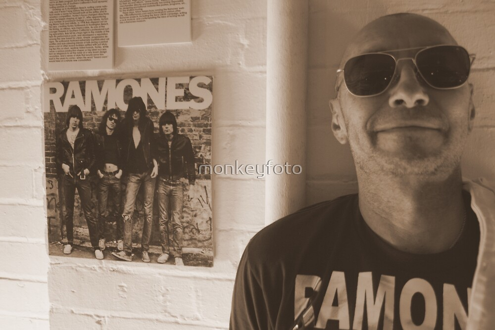 Arturo Vega aka the '5th RAMONES' by monkeyfoto