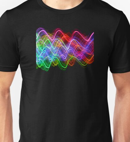 Saturn Flames Unisex T-Shirt