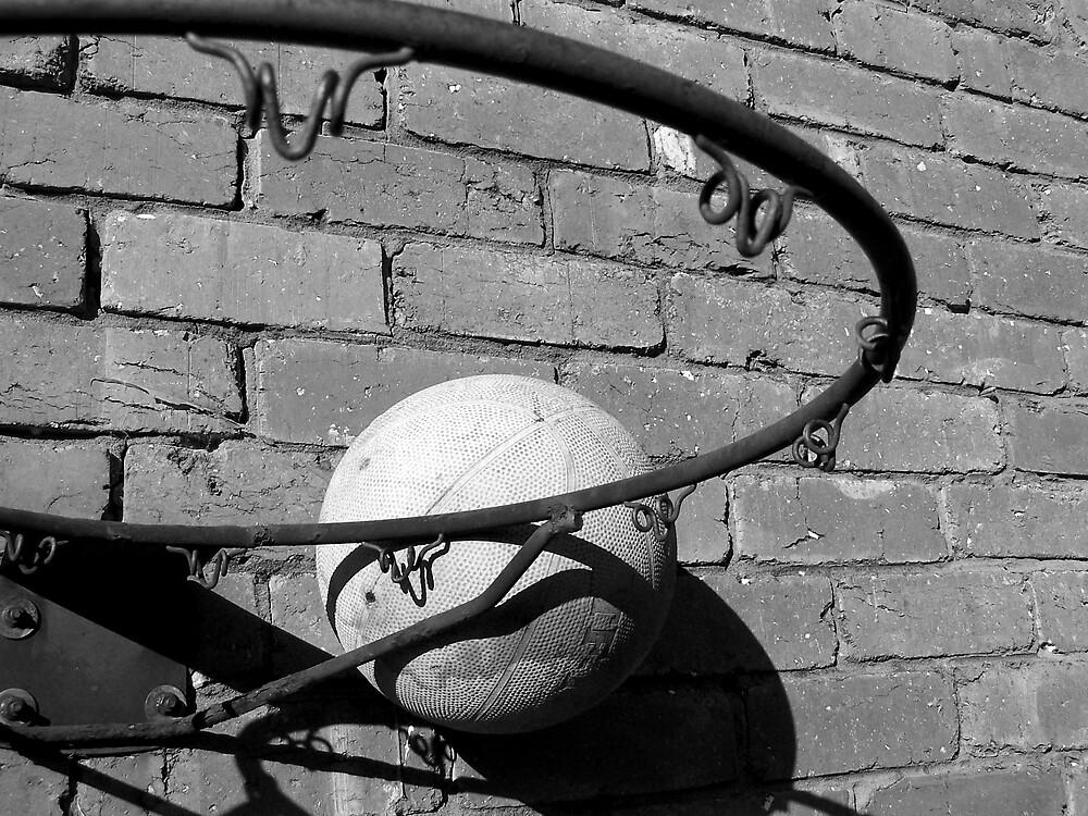 Backyard basketball by MeganJayne