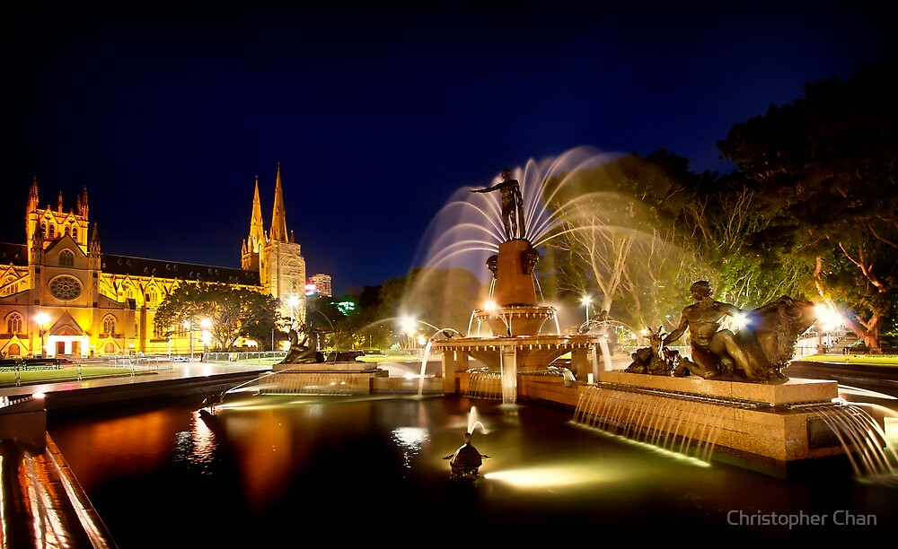 Archibald Fountain by Christopher Chan