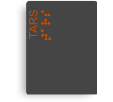 TARS Logo - Interstellar Canvas Print