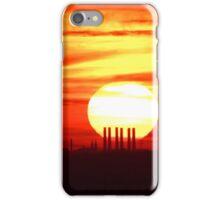 Smokestack Sunset St Louis MO iPhone Case/Skin