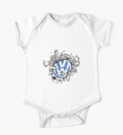 VW Bullet Holes Logo One Piece - Short Sleeve