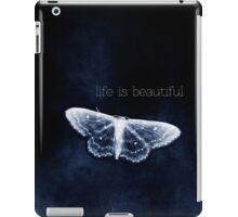 life is beautiful iPad Case/Skin