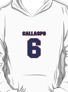 National baseball player Alberto Callaspo jersey 6 T-Shirt