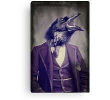 Ray Ray the Raven Canvas Print
