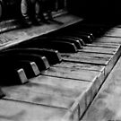 Old Piano by dmbarnham