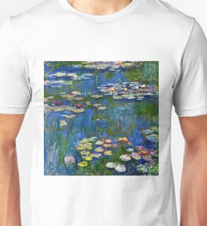 Claude Monet - Water Lilies (1916) Unisex T-Shirt