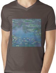 Claude Monet - Water Lilies 1906 Mens V-Neck T-Shirt