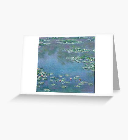 Claude Monet - Water Lilies 1906 Greeting Card